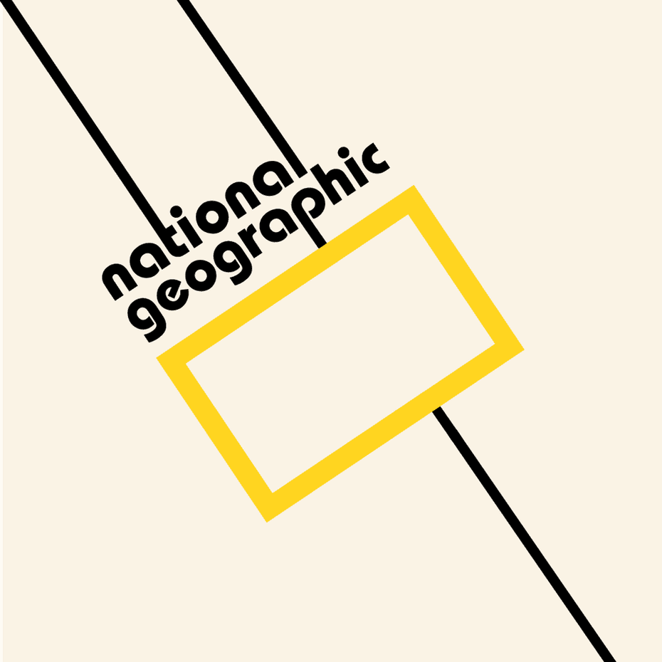 National Geographic Logo Concept